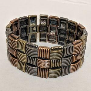 Gold Tone, Brass Tone, And Metal Tone Bracelet
